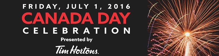 Canada Day Celebration July 1 Ashbridges Bay, Toronto sponsored by Tim Hortons