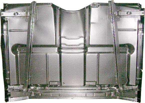 A1908 Quot Low Hump Quot Truck Complete Cab Floor Panel W Braces