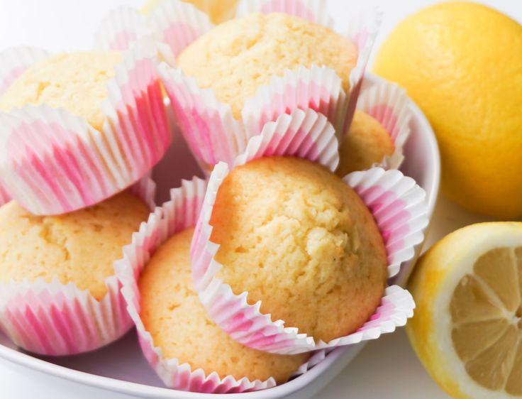 Saftiga citronmuffins – Tessan Bakar