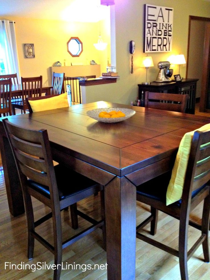 counter height kitchen table