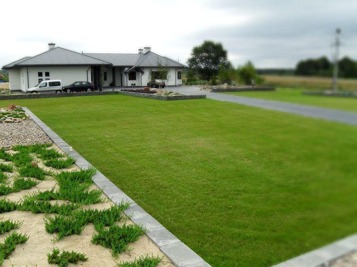 Ogród frontowy
