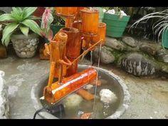 Bambus Wasserspiel Mit Solarakku Youtube Thac Nước 2 Pinterest