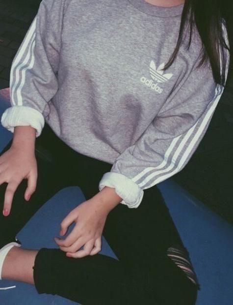 Round Neck Top Sweater Pullover Sweatshirt