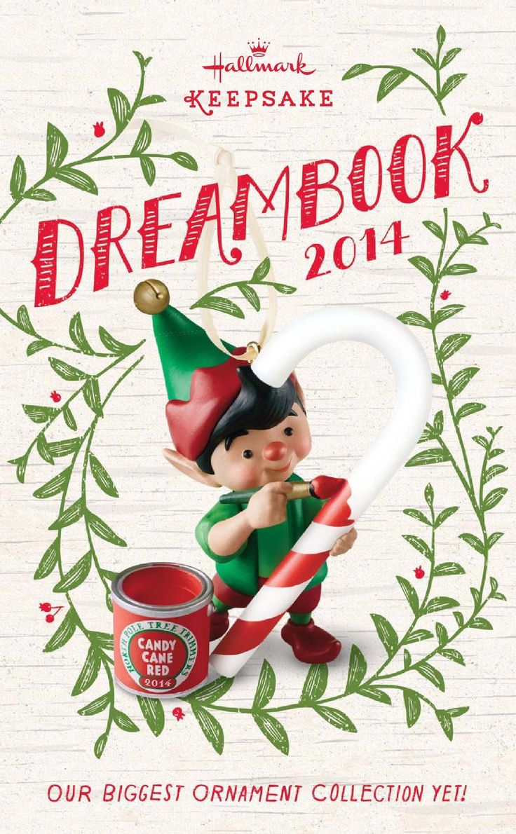 Hallmark keepsake ornament dreambook 2014