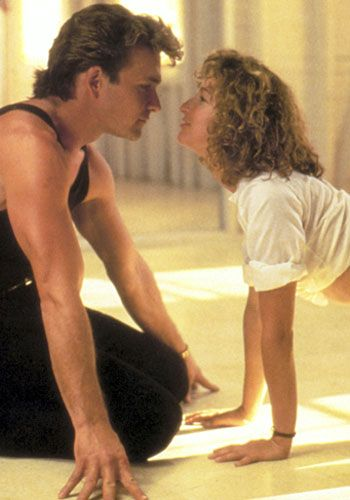 Dirty Dancing. LOVE LOVE LOVE this movie! Yes, I might love it slightly less since Jennifer Grey was on Dancing With The Stars (whiny much?) , but still one of my favorite movies!