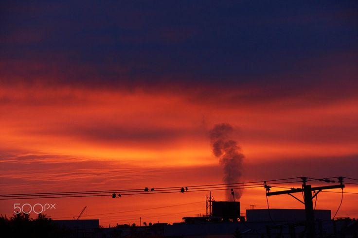 Best sunrise in Montreal - null