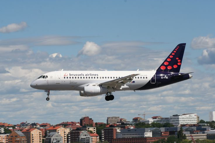 Brussels Airlines | Sukhoi Superjet 100-95B | at Bromma Airport Sweden | Copyright Alfred Gurp