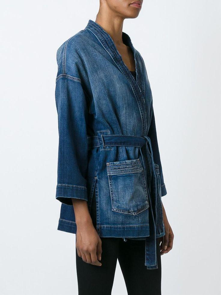 Current/Elliott джинсовый пиджак-кимоно