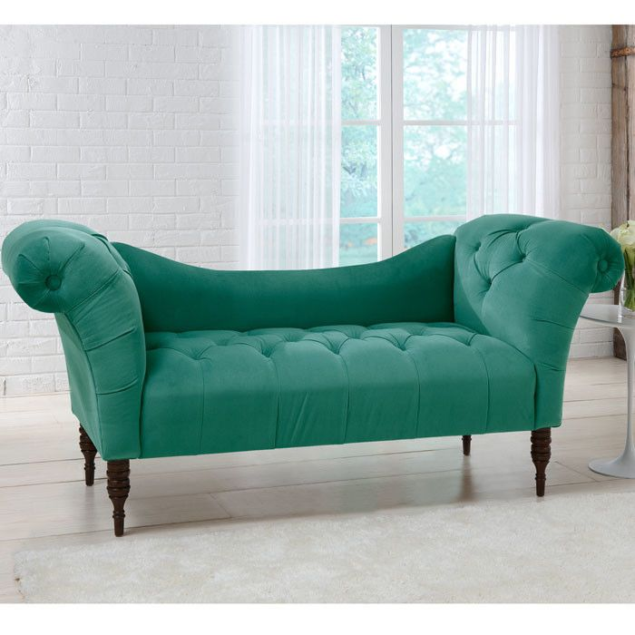 Wonderful Lowest Price Online On All Skyline Furniture Tufted Chaise Lounge In Cocoa