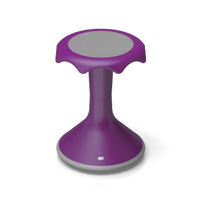 The HOKKI is an ergonomic stool with a convex base that allows movement -rocking, twisting and turning- which is critical to student development and well-being. The Hokki stool is wear-resistant, easy to clean, light weight and stackable for easy storage.A custom-sized, colorful stool with a convex base that allows rocking, twisting and turning.The Hokki stool is compact, light-weight, durable, and able to be stacked.  HOKKI ARE NOT ABLE TO BE RETURNED, so please consult with WittFitt to…
