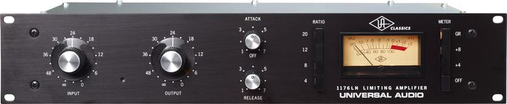 Universal Audio 1176LN Classic Limiting Amplifier     FET-Style Compressor with Class A Output & Custom Transformers — True to the Original