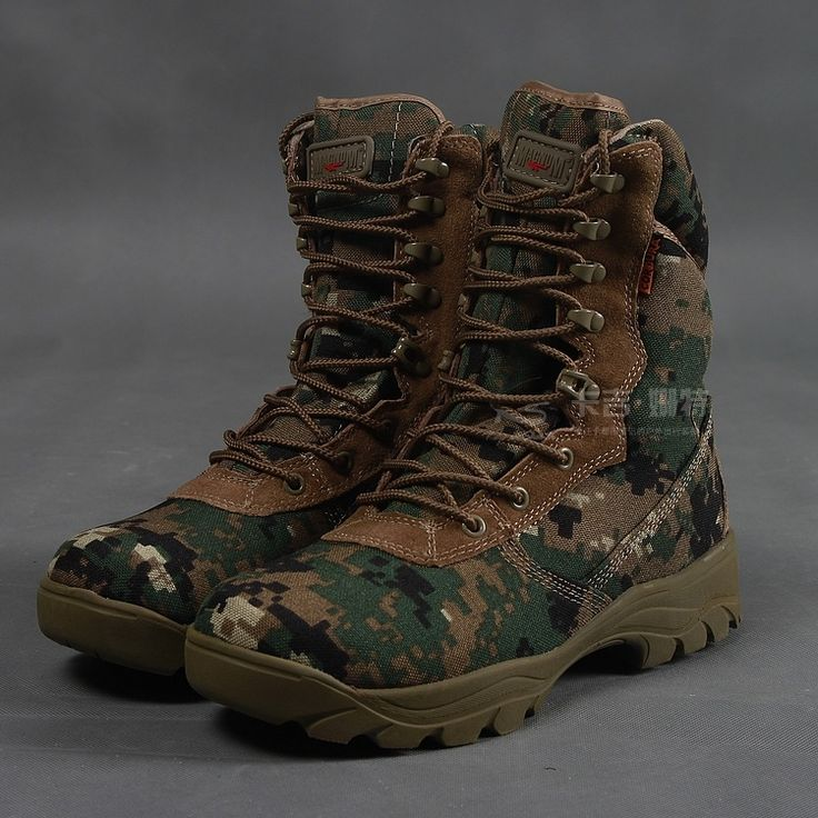 Delta army boots training special forces tactical boots desert combat boots genuine 07 ultra high-top army boots outdoor(China (Mainland))