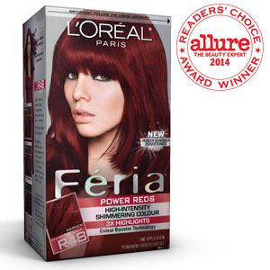 Féria ® Power Reds R48 Intense Deep Auburn / Red Velvet ...