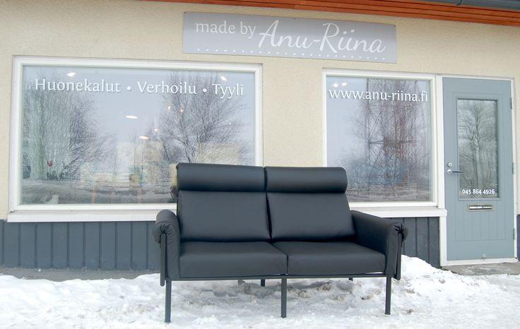 Ateljee- Yrjö Kukkapuro,  newly upholstered by Anu-Riina