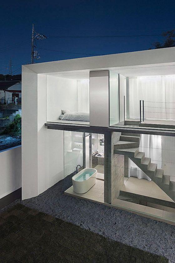 U-House in Japan by Kubota Architect Atelier