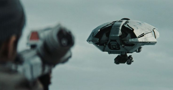 A man evades relentless drones in this action-packed science fiction film