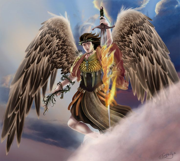 Célèbre Les 25 meilleures idées de la catégorie Archange uriel sur  MD33