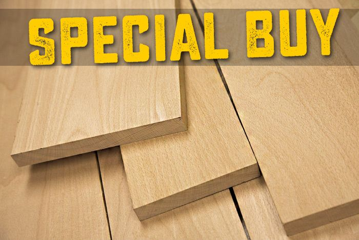 Hard White Maple Lumber for Woodworkers - Friendly Service & Fast Shipping from Woodworkers Source