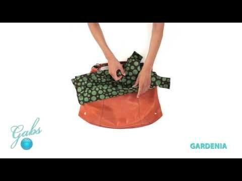GABS Gardenia– De tassen van het Italiaanse merk Gabs zijn multifunctioneel. Bekijk hoe je van 1 tas, verschillende modellen kunt maken. #multifunctioneel #gabs #handbag #bag #video