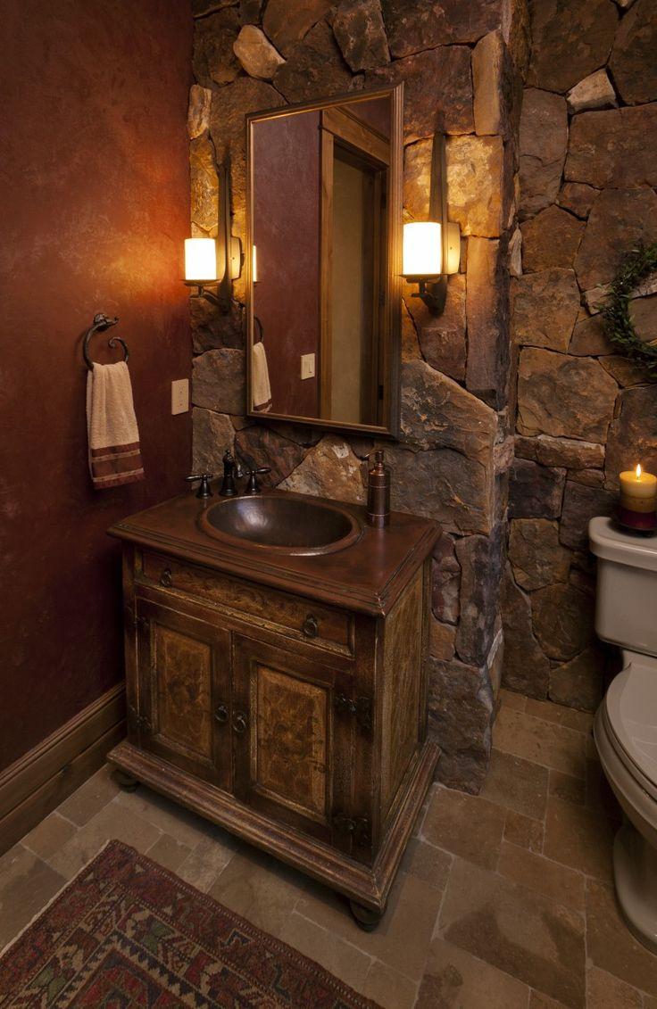 Best Images About Bathroom On Pinterest - Bathroom ideas rustic