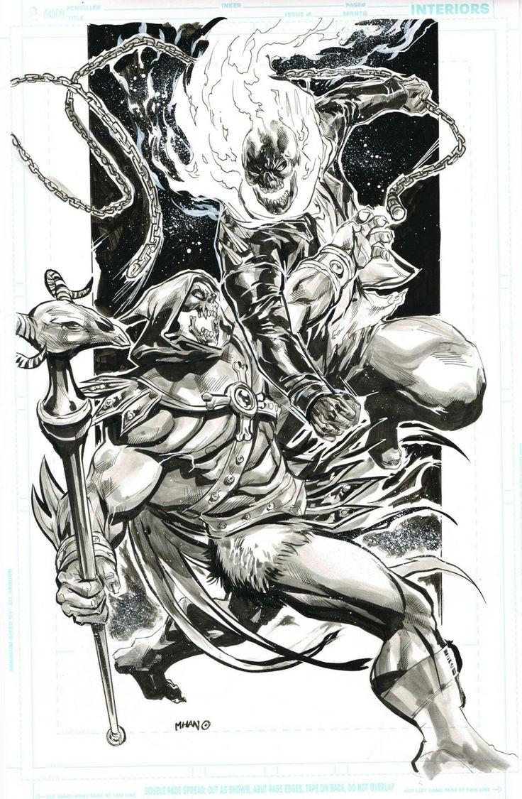 Skeletor battles A Spirit of Vengeance