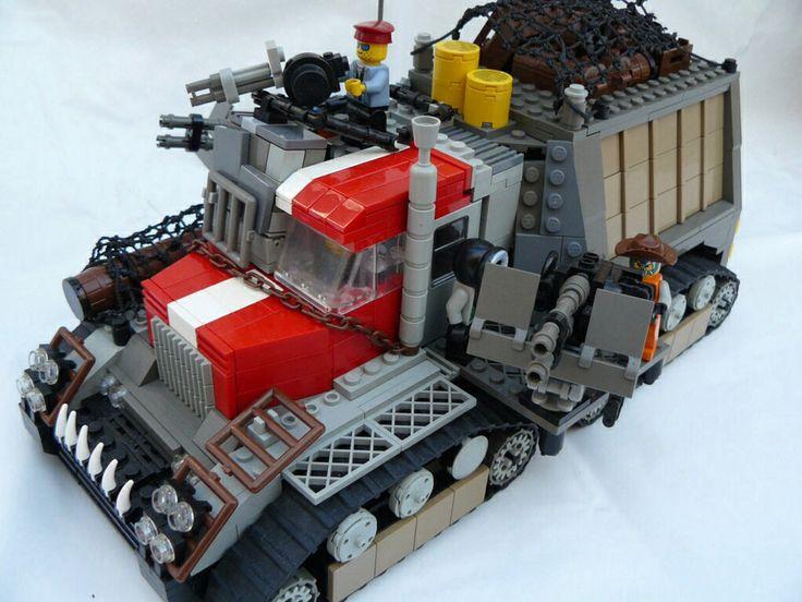 Lego. Zombie Apocalypse survival vechile