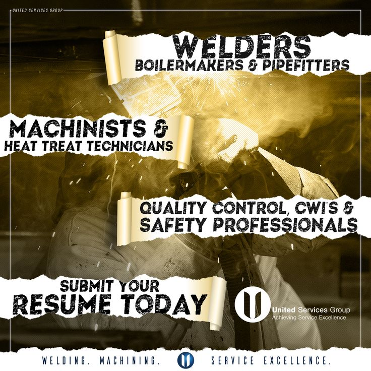 56 best United Services Group On-Site images on Pinterest - boilermaker welder sample resume