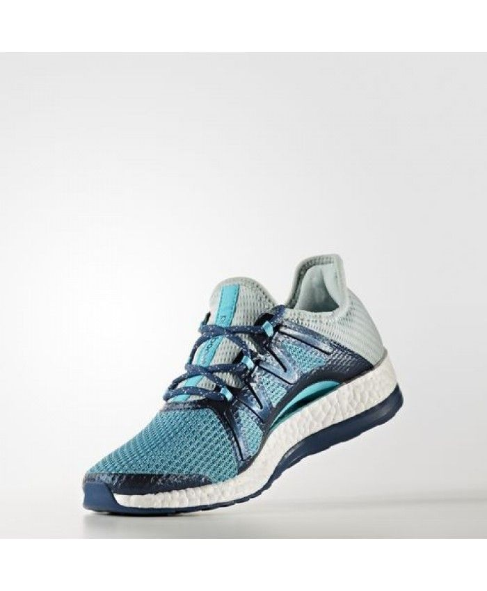 Adidas Pure Boost Xpose Shoes BA8272 Tactile Green Energy Blue Blue Night
