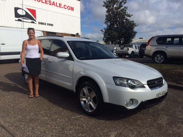 Jo Picked up her #Subaru #Outback this morning ready for the #AustraliaDay #Longweekend. Thanks for visiting Motor vehicle wholesale.
