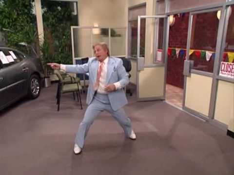 Mad Tv - Crazy Car Seller--THIS IS HILARIOUS...I am amazed at the agility of the car salesman!-