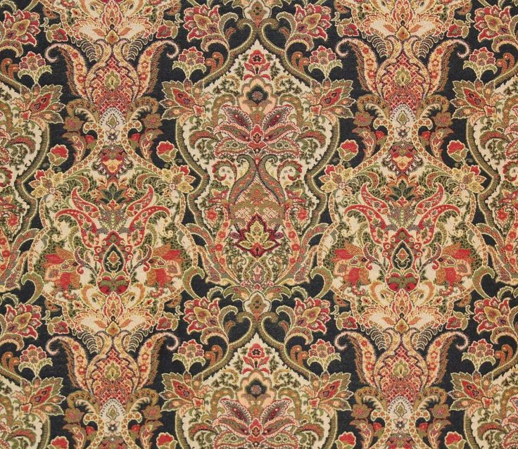 "Duchess navy Damask, Jacobean, Floral, Traditional, Upholstery and Drapery fabric per yard 54"" wide by fabulessfabrics on Etsy https://www.etsy.com/listing/214274214/duchess-navy-damask-jacobean-floral"