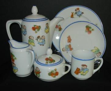 Oh So Adorable Vintage Tea Set : Vintage toy tea set. Adorable!  Tea with a friend?  Pinterest