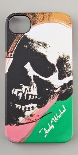 Incase Andy Warhol Skull iPhone Case: Skulls, Iphone Cases, Art, Warhol Iphone, Andywarhol, Andy Warhol, Incase Andy, Photo