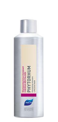 PHYTO PHYTORHUM Shampoo energizzante per CAPELLI DEVITALIZZATI   Un'autentica ricetta a base di giallo d'uovo e di rhum. Uno shampoo che ridona tono ai capelli spenti e affaticati. Applicare lo shampoo sui capelli bagnati. Massaggiare delicatamente. Risciacquare abbondantemente. Formato 200 ml