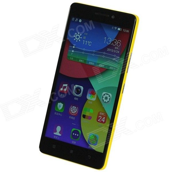 """Lenovo K3 Note Android 5.0 MTK6752 Octa Core 4G Phone w/ 5.5""""FHD, 2GB RAM,16GB ROM,13.0+5.0MP-Yellow"""
