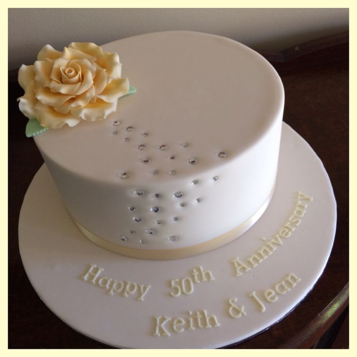 Ideas For Th Wedding Anniversary Cakes