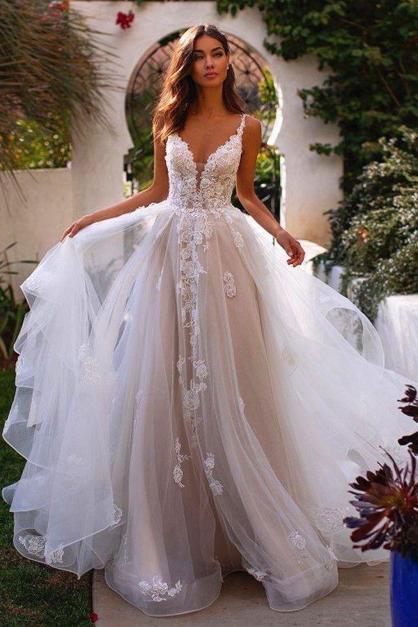 27+ A line bridal gowns ideas info
