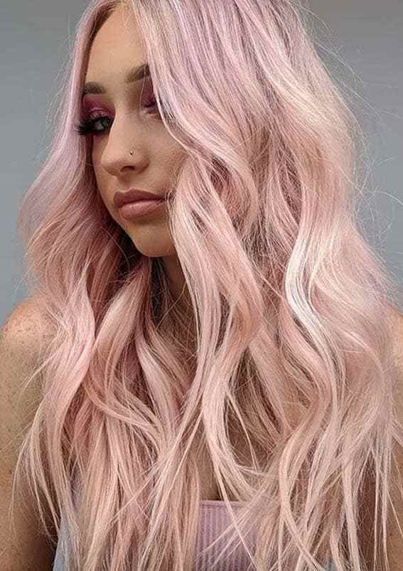 Beautiful Pink Pastel Hair Color Trends To Follow In Year 2020 In 2020 Hair Color Pastel Pastel Pink Hair Color Light Pink Hair