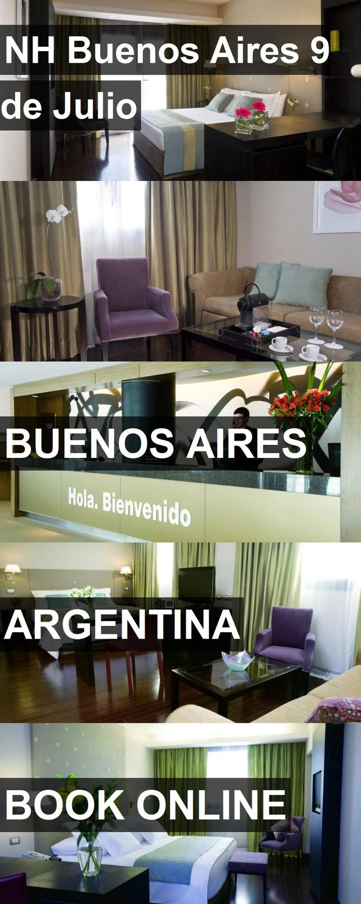 Hotel NH Buenos Aires 9 de Julio in Buenos Aires, Argentina. For more information, photos, reviews and best prices please follow the link. #Argentina #BuenosAires #travel #vacation #hotel