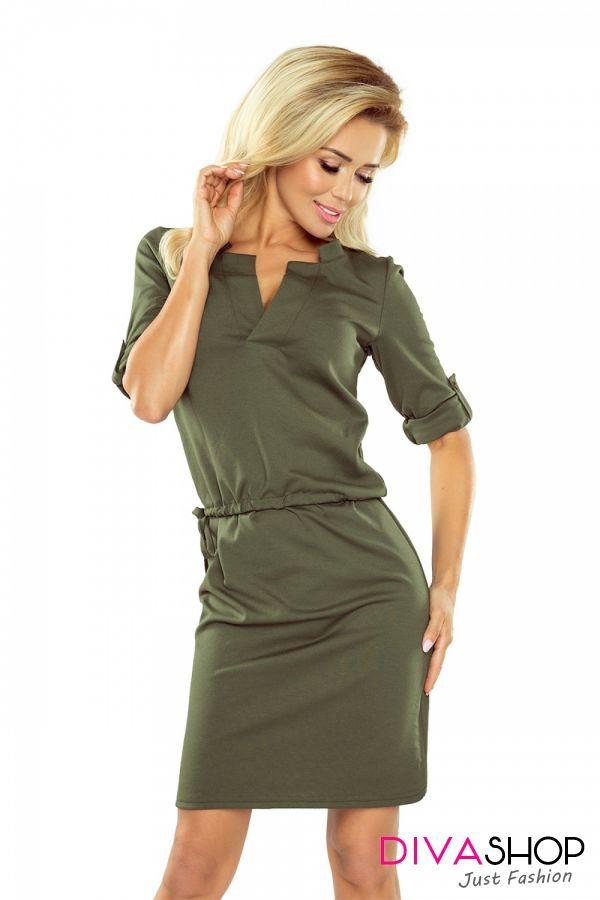 Rochie de zi verde