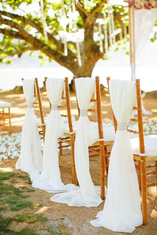1000 Images About Wedding Chair Sash On Pinterest