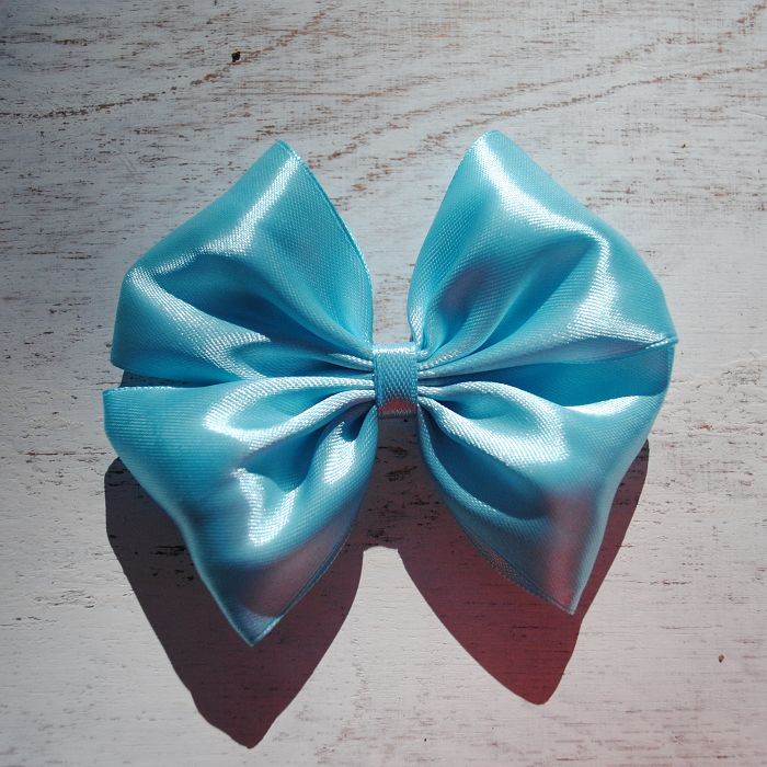 Happy Moment. Голубой   #bow #SunBow #SPb #hairbow #hairstyle #бант #бантик #заколка #заколкадляволос #голубой