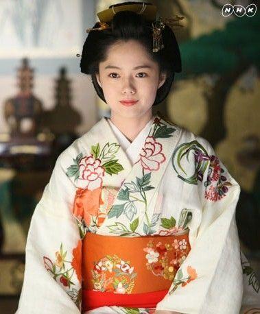 Aoi Miyazaki / Japanese actress. Kimono.