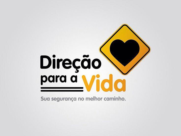 Logotipo Direção para a Vida. Criação: Rafael Okubara.