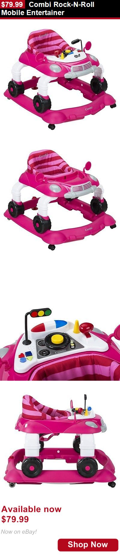 Baby walkers: Combi Rock-N-Roll Mobile Entertainer BUY IT NOW ONLY: $79.99