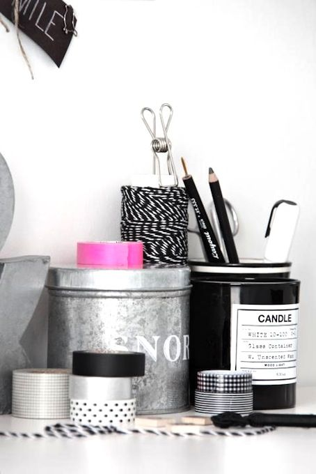 home inspiration: BLACK & WHITE WORK SPACESWhite Work, Fave Pix, Black And White, Offices Spaces, Work Spaces, Black White, White Office, Decor Offices, Interiors Decor