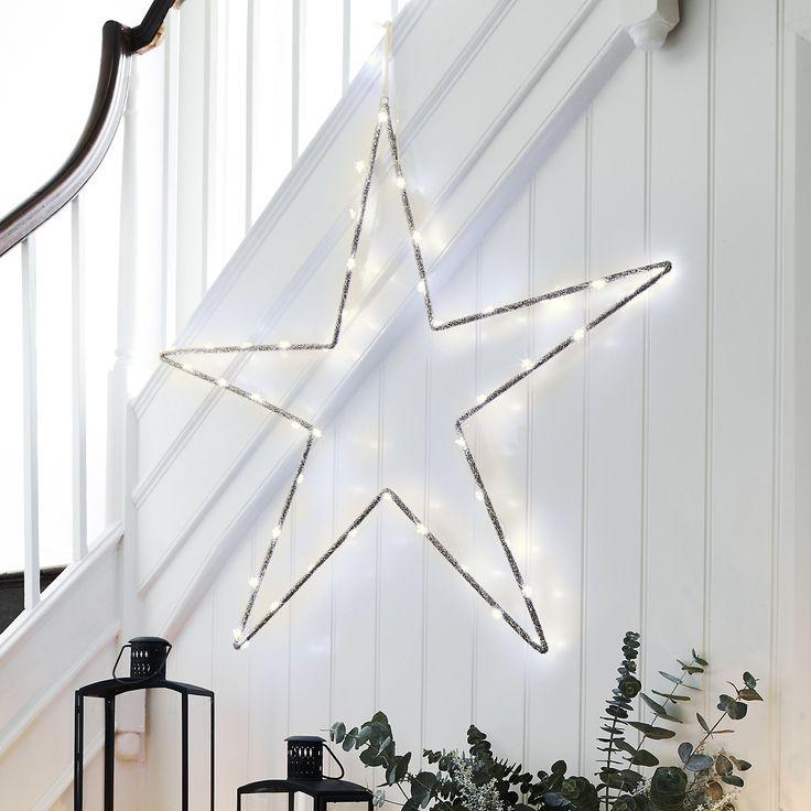 Ultimate Beaded Star | Christmas Room Decorations | Christmas Decorations | Christmas | The White Company UK