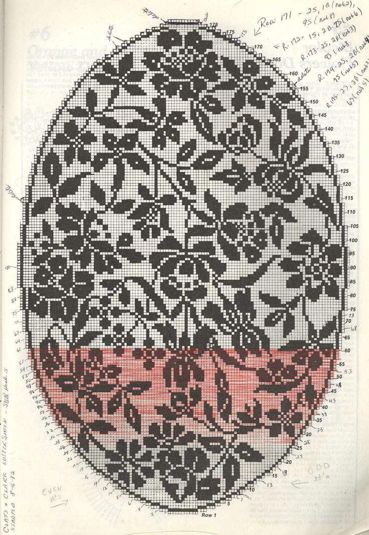 Filet crochet: