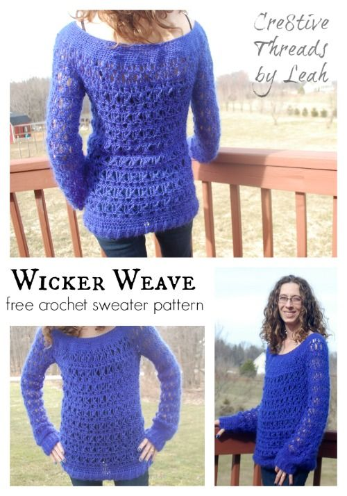 871 Best Free Crocheted Patterns For Women Images On Pinterest