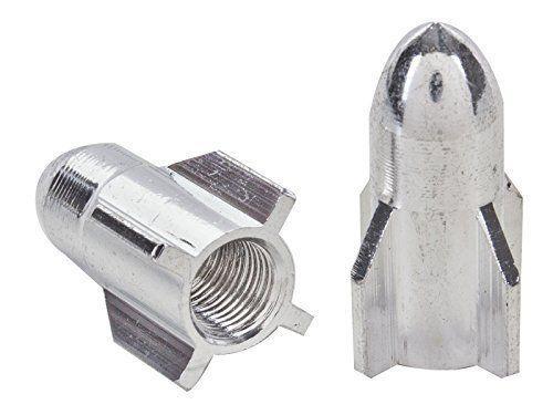 Sunlite Rocket Top Schrader Valve Caps, Short, Silver. #Sunlite #Rocket #Schrader #Valve #Caps, #Short, #Silver